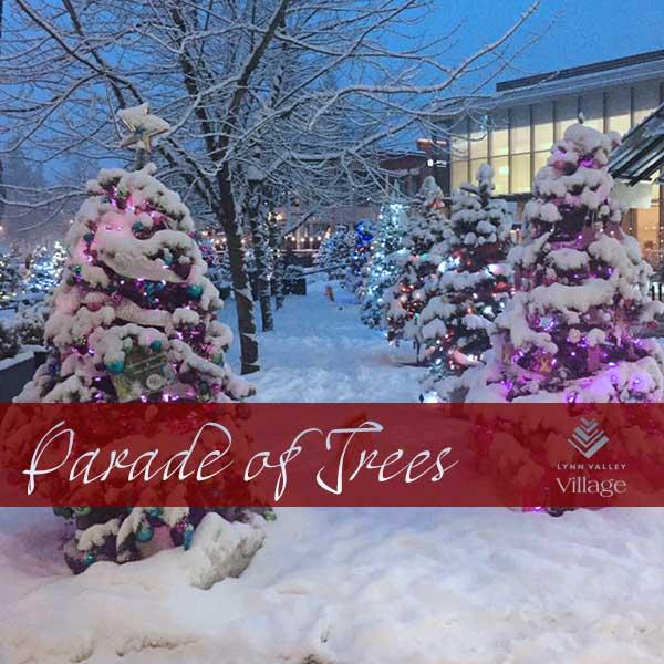 Parade of Trees - Lighting Ceremony