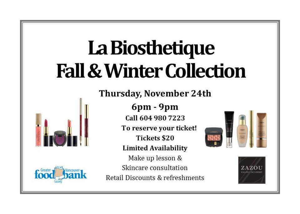 Fall make up event at Zazou