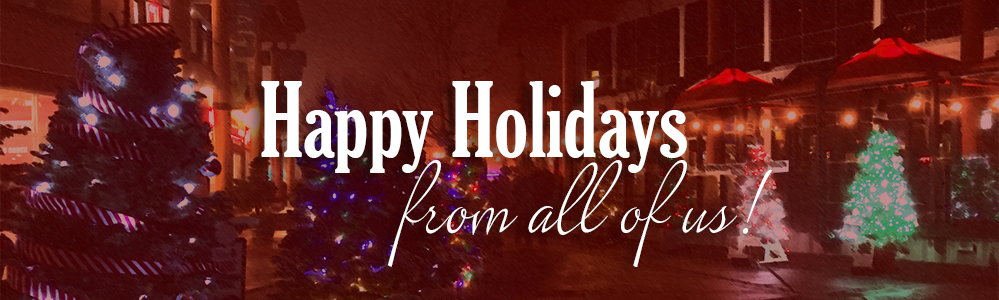Merry Christmas and Happy Holidays from Lynn Valley Village