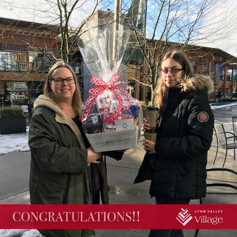 Lynn Valley Village North Vancouver - Valentine contest winner 2018