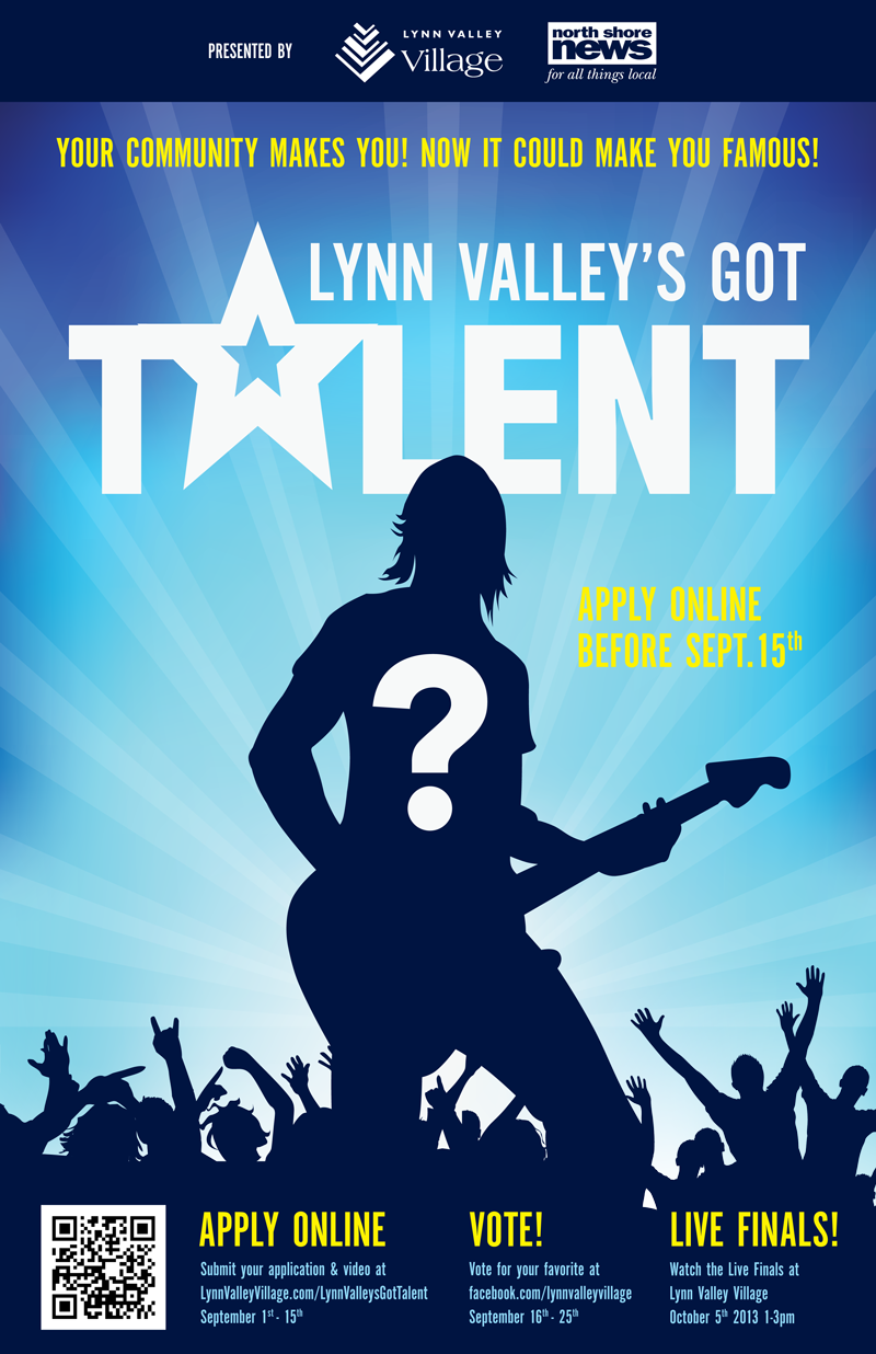 Lynn Valley has talent, now its time to show it off