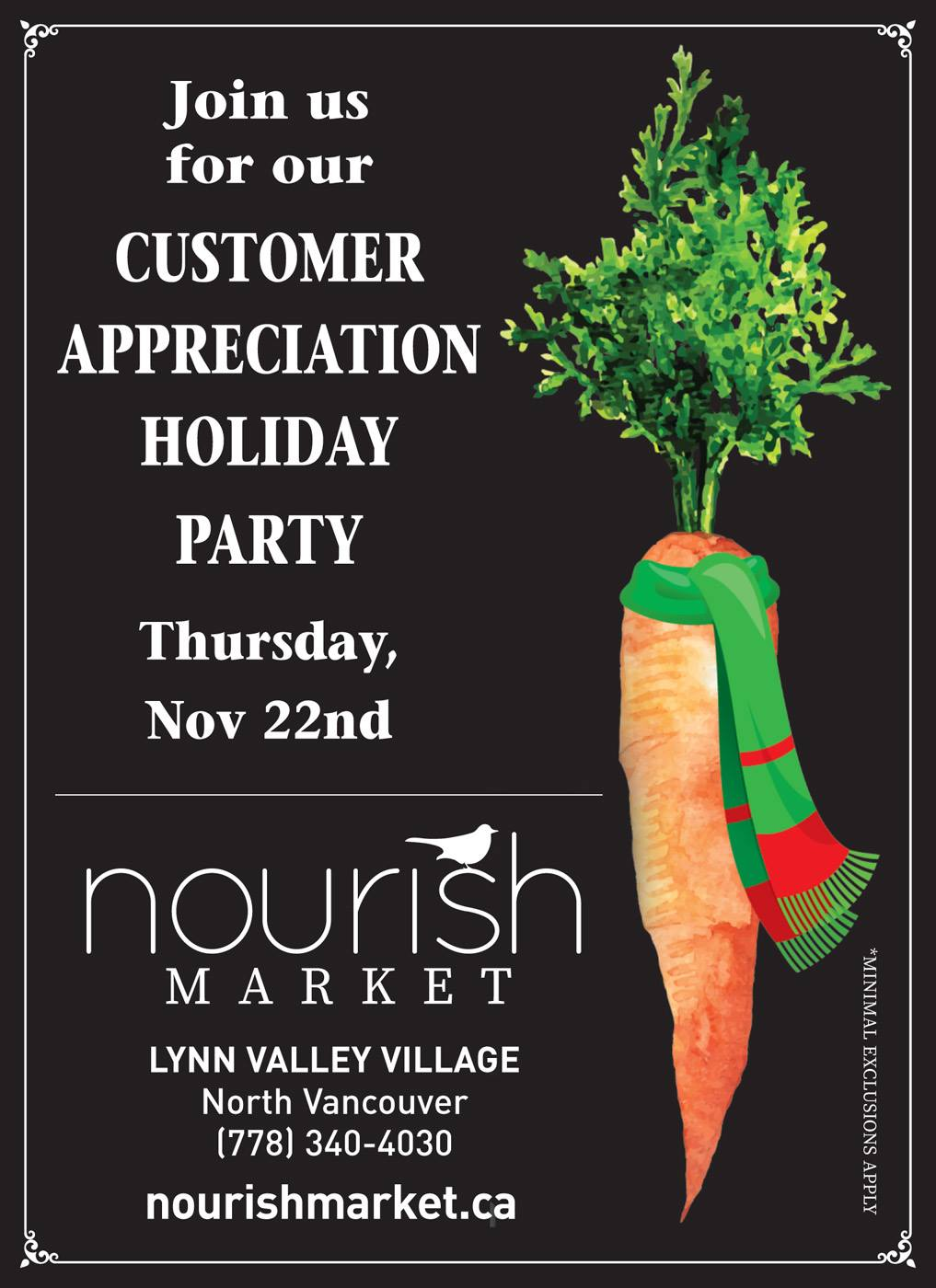 customerappreciationday Nourish